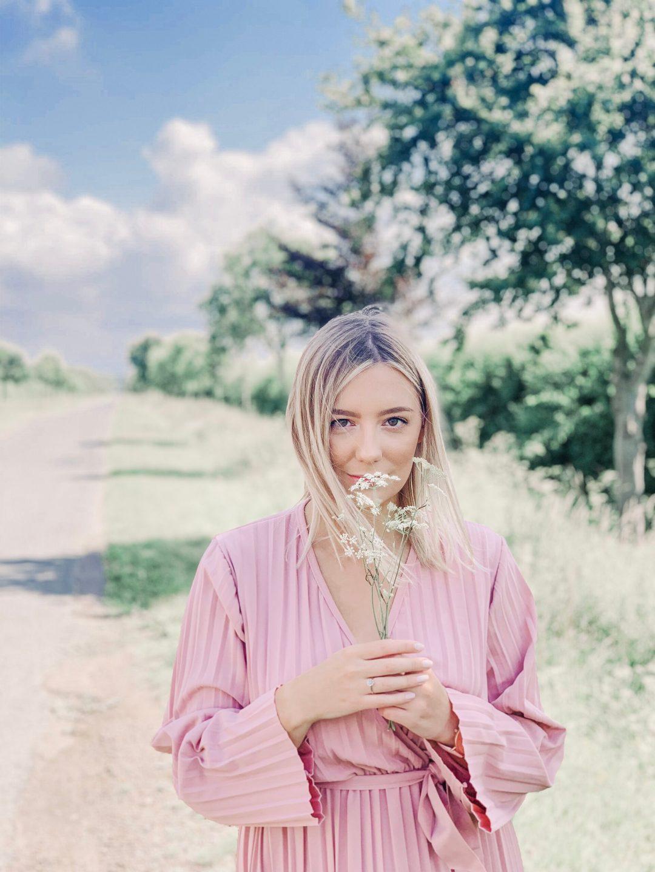 Summer Pastel Pink Dress