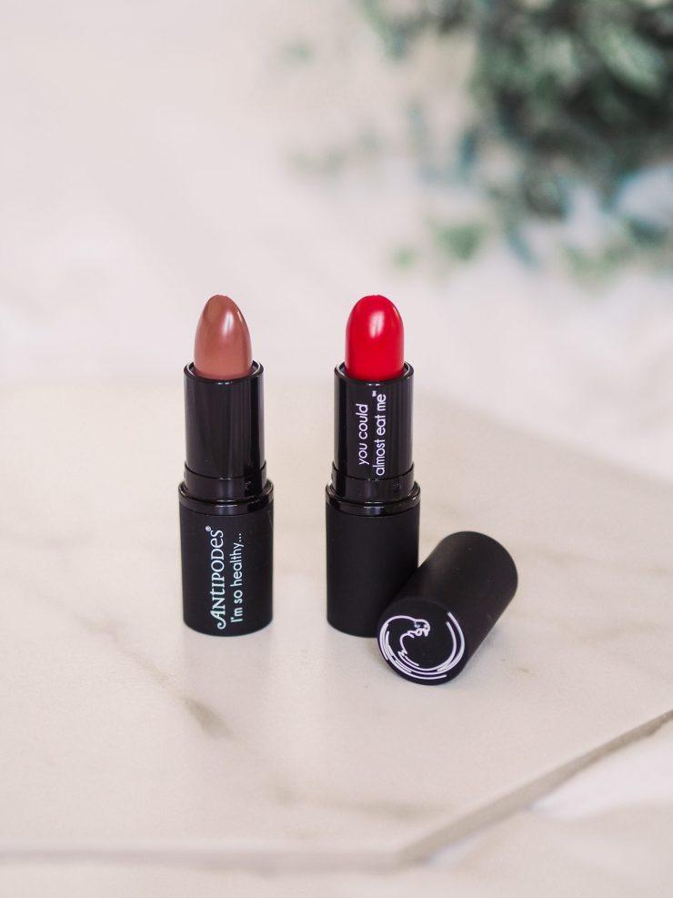 Moisturising Vegan Lipsticks