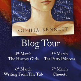 The blog tour for Following Ophelia