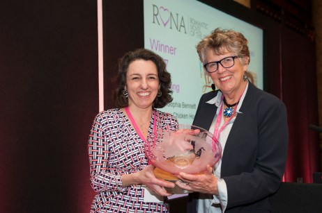 RoNA17 winner Sophia Bennett, presenter Prue Leith