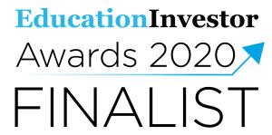 Education Investor Awards 2020 FINALIST