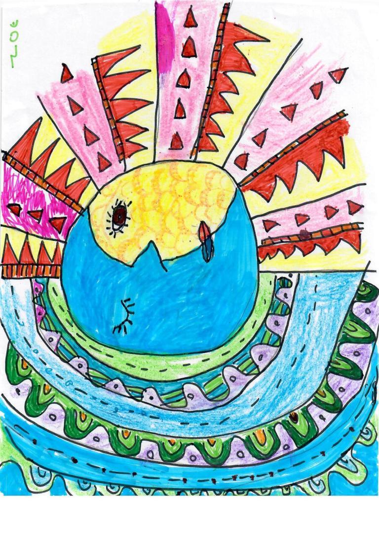 student work sophia high school art