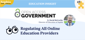 Regulating Online Education Providers