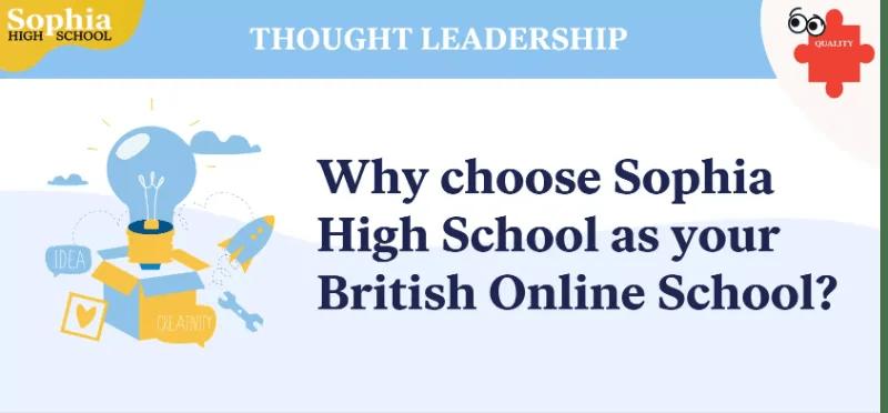 Sophia High British Online School