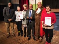 Mayors Award group photo