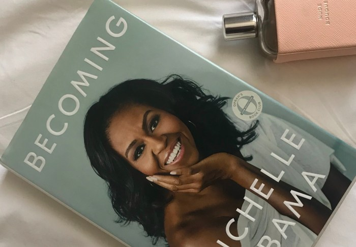 J'AI ENFIN LU « BECOMING » DE MICHELLE OBAMA #LIVRE