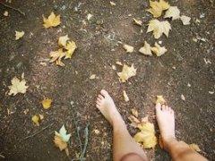 With my Feet on the Ground [Photo by AnnaRosie at DeviantArt]