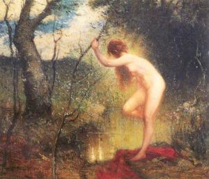 The Forest Pool [Elliot Daingerfield 1859–1932]