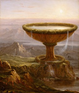 The Titan's Goblet (1833) by Thomas Cole.