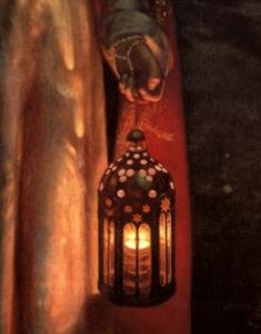 William-Holman-Hunt_The-light-of-the-world-detail_c1900-1904