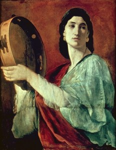 The Prophet Miriam, 1862, by Anselm Feuerbach.