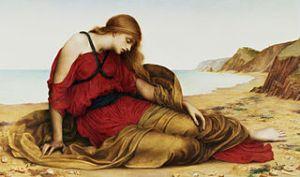 Ariadne in Naxos, 1877, by Evelyn De Morgan.