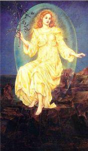 Lux in Tenebris, 1895, Evelyn Pickering De Morgan.