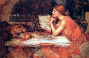 Circe, the Priestess, 1911, by John William Waterhouse.
