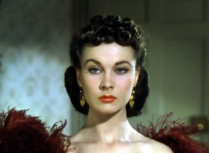 Vivien Leigh as Scarlett O'Hara in Gone With the Wind.