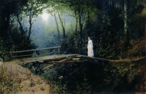 Bridge in the Woods (1885-86), by Rafail Sergeevich-Levitsky (1847–1940). Image courtesy WikiCommons.