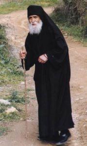 Saint Paisios of the Holy Mountain.