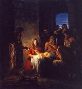 The Nativity by the Danish Artist Carl Heindrich Bloch (1834-1890).