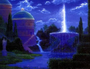 """Copyright - """"Fountain of Renewal"""" by Gilbert Wiliams Fountain of Renewal, by Gilbert Williams. Image used with permission from Mr. Williams."""