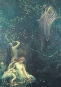 Obraz, by the Aquarian-Sun artist Maximilian Pirner (1853-1924). PD-US.
