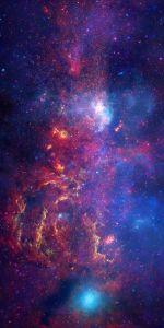 Galactic Center, Milky Way. Hubble-NASA, Chandra Xray. PD-US.