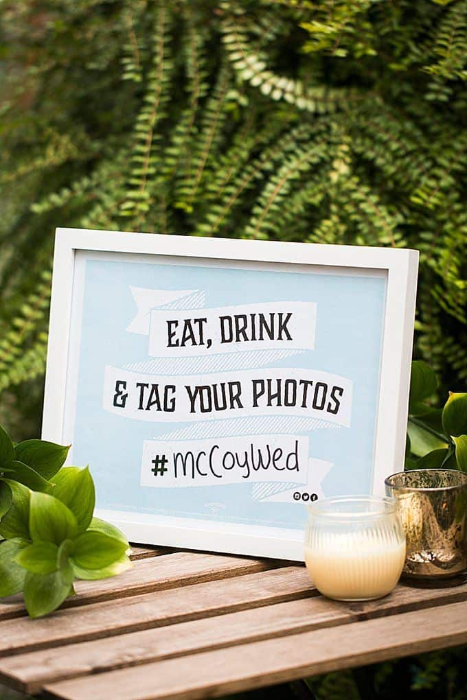 Make the best wedding hashtag!