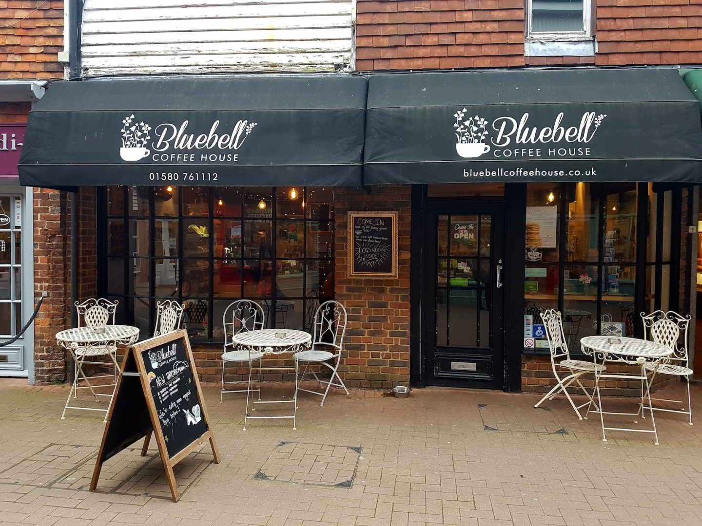 The best of London…in Tenterden – Bluebell Coffee House