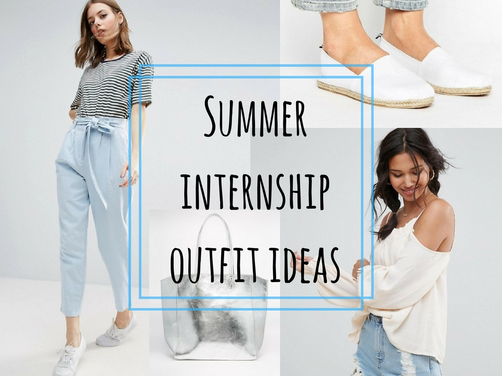 Smart Casual Summer Internship Outfit As Said By Sophia