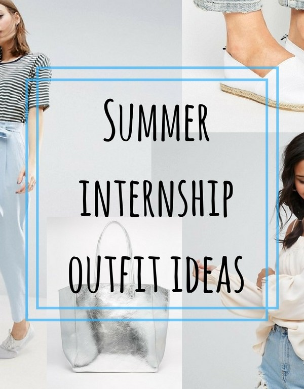Smart Casual Summer Internship Outfit