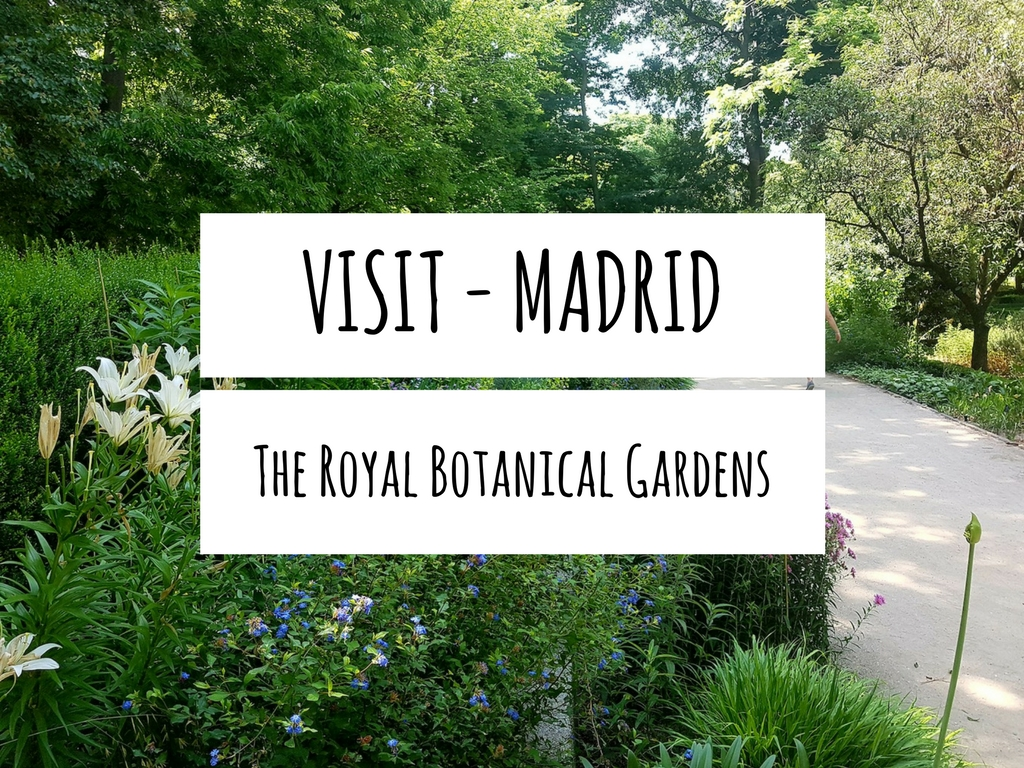 Visit Madrid – The Royal Botanical Gardens