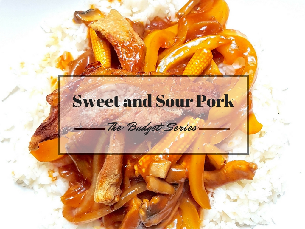 The Budget Series – Sweet and Sour Pork With Crispy Trimmings