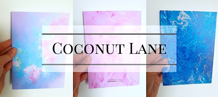 Coconut Lane Note Pad