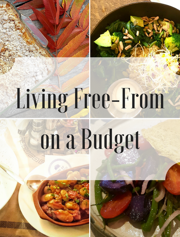 How to live gluten and dairy free – on a budget