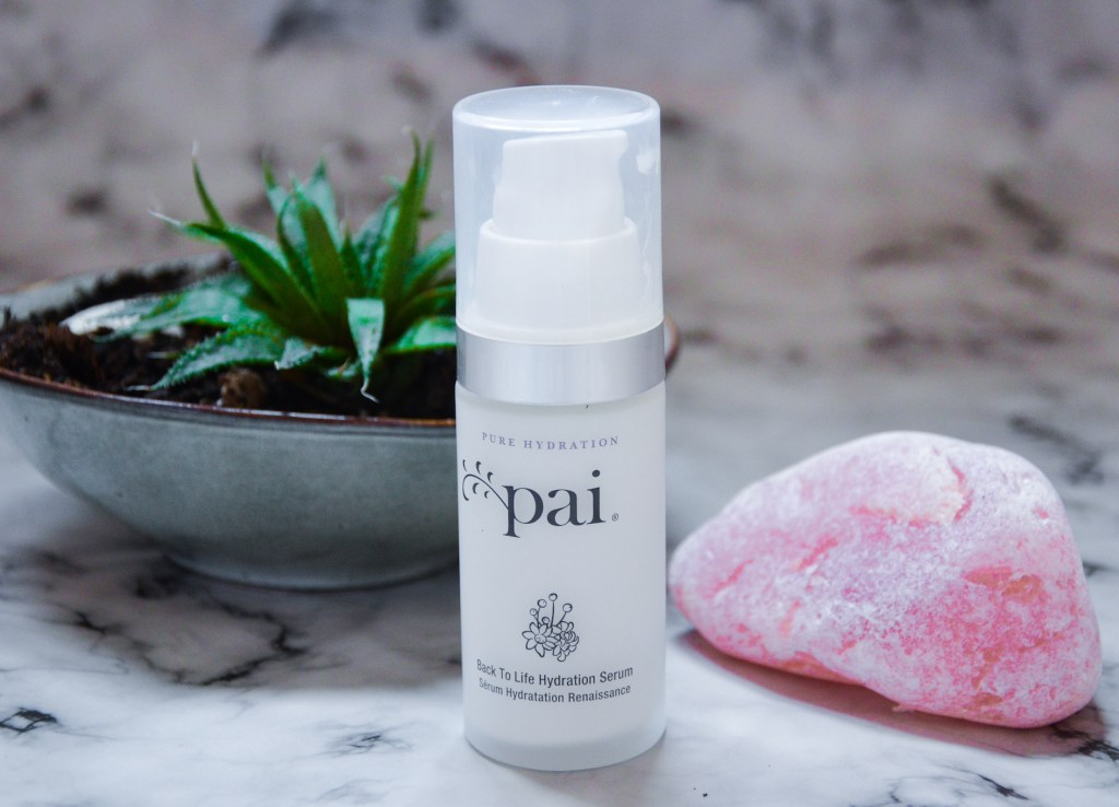 Pai skincare Review back to life serum