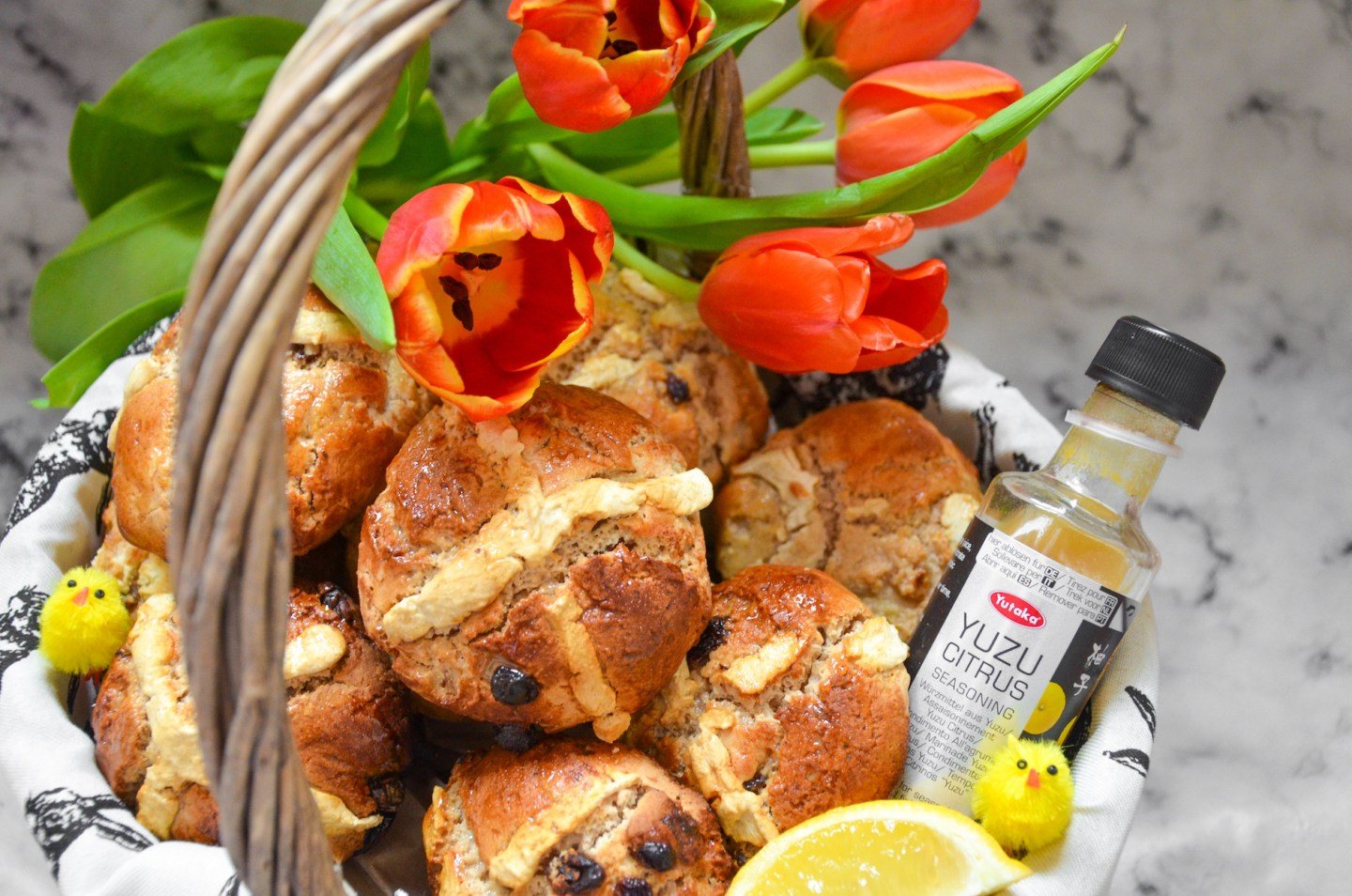Yuzu and Honey Hot Cross Buns – A Recipe