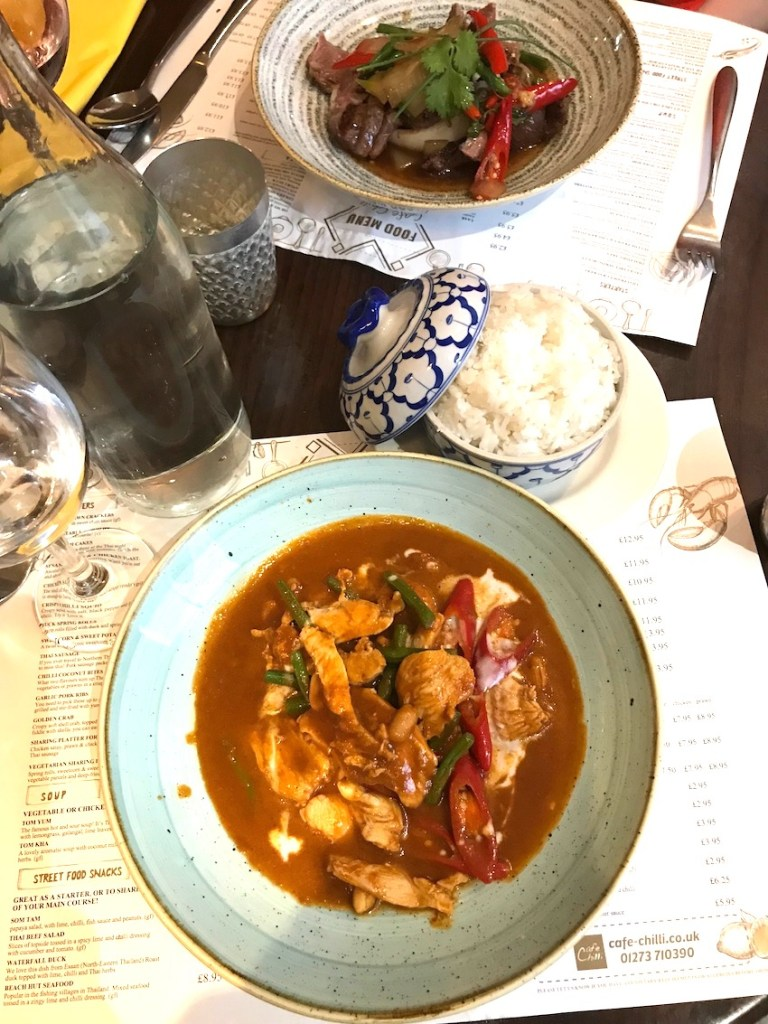 The chilli cafe Brighton Hove review
