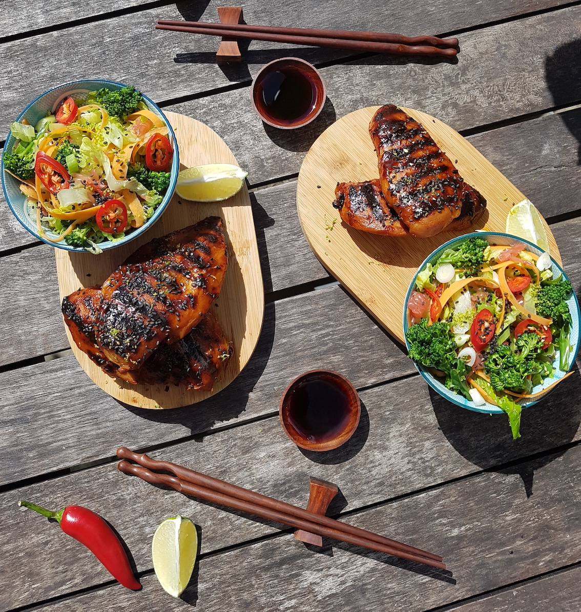 A Japanese Twist – Yutaka BBQ Miso Chicken – A Recipe