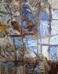 "'Studio windows #3' oil on canvas 20""x16"" by Sophia Yee"