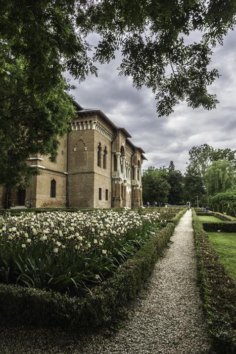 Les jardins du Palais de Mogoșoaia