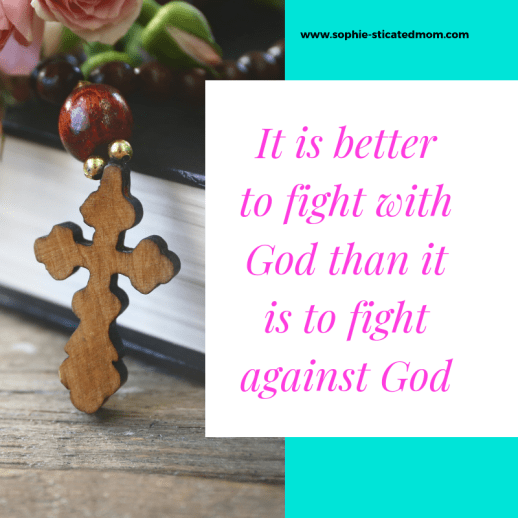 3 Ways That Being Angry At God Is Actually Helping You It can be easy to start being angry with God when life has let you down. But here are some thoughts and truths for you that you need to tell yourself when you are mad at God. Even Jesus felt God has forsaken him at one point. Learn to have faith and follow these 3 tips.