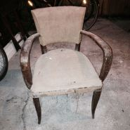 Bridge chair before renovation