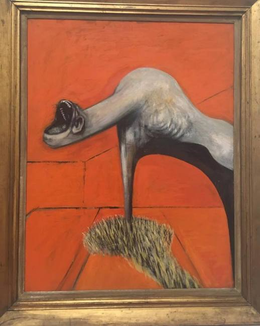 """Francis Bacon """"Three Studies for Figures at the Base of a Crucifixion""""(3/3)"""