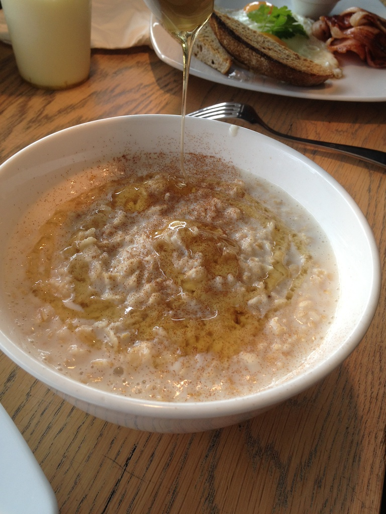 Tell the computer to make porridge…(a recipe)