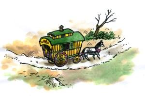 Alfie - Wagon & Horse