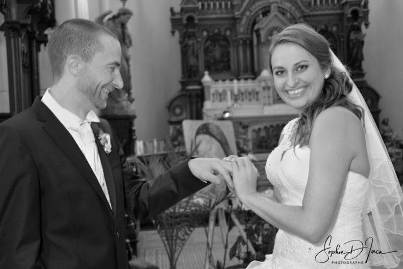 Mariage Dunkerque Église - Dunkerque - Sophie d'Inca - Ouest - Pays de l'Oust à Brocéliande - Morbihan sud - Plage - Couple - Union - Mariés - Photographies - Mariage Hauts-de-France