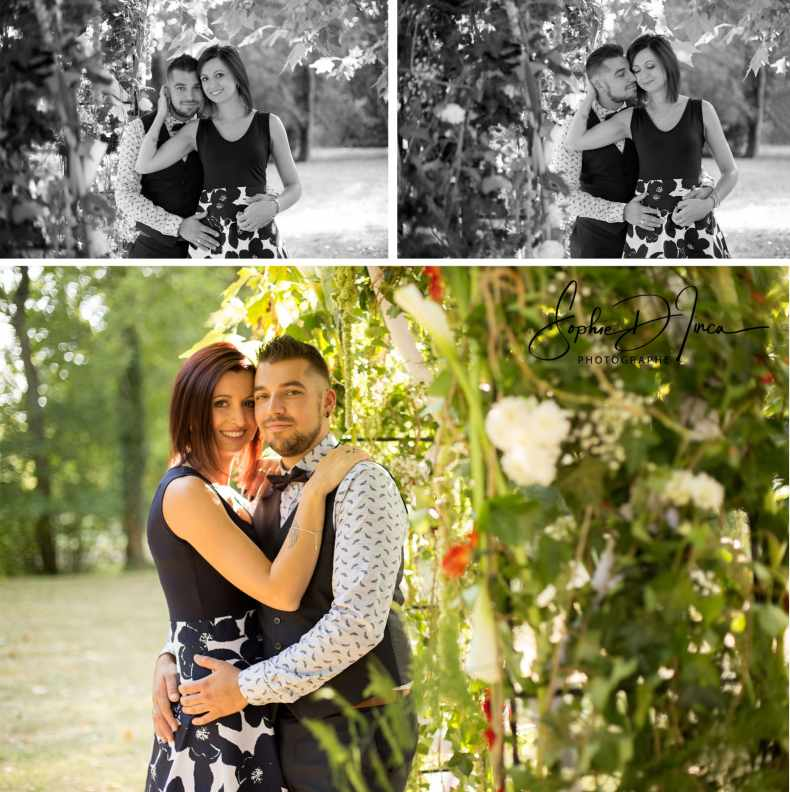 séance photo engagement futurs mariés Sophie D'inca Photographe Malestroit Morbihan Bretagne 56