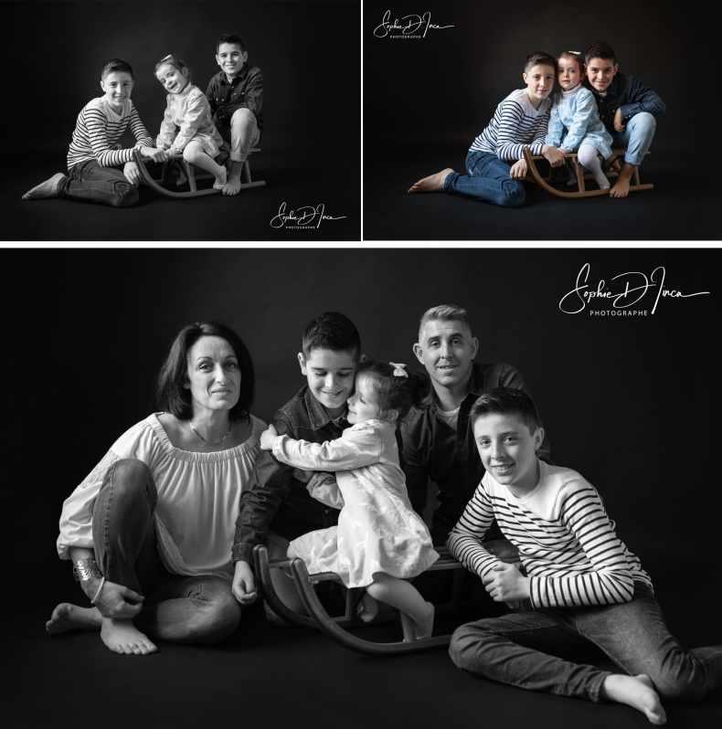 séance photo famille enfants Sophie D'inca Photographe Morbihan 56