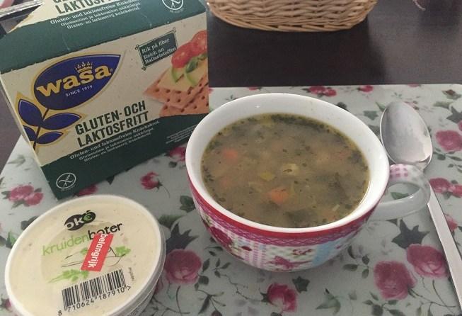 glutenvrije groentesoep