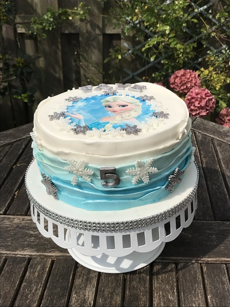 Glutenvrije Frozen taart (1)