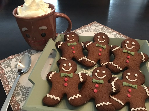 Gingerbread koekjes (peperkoekmannetje) glutenvrij